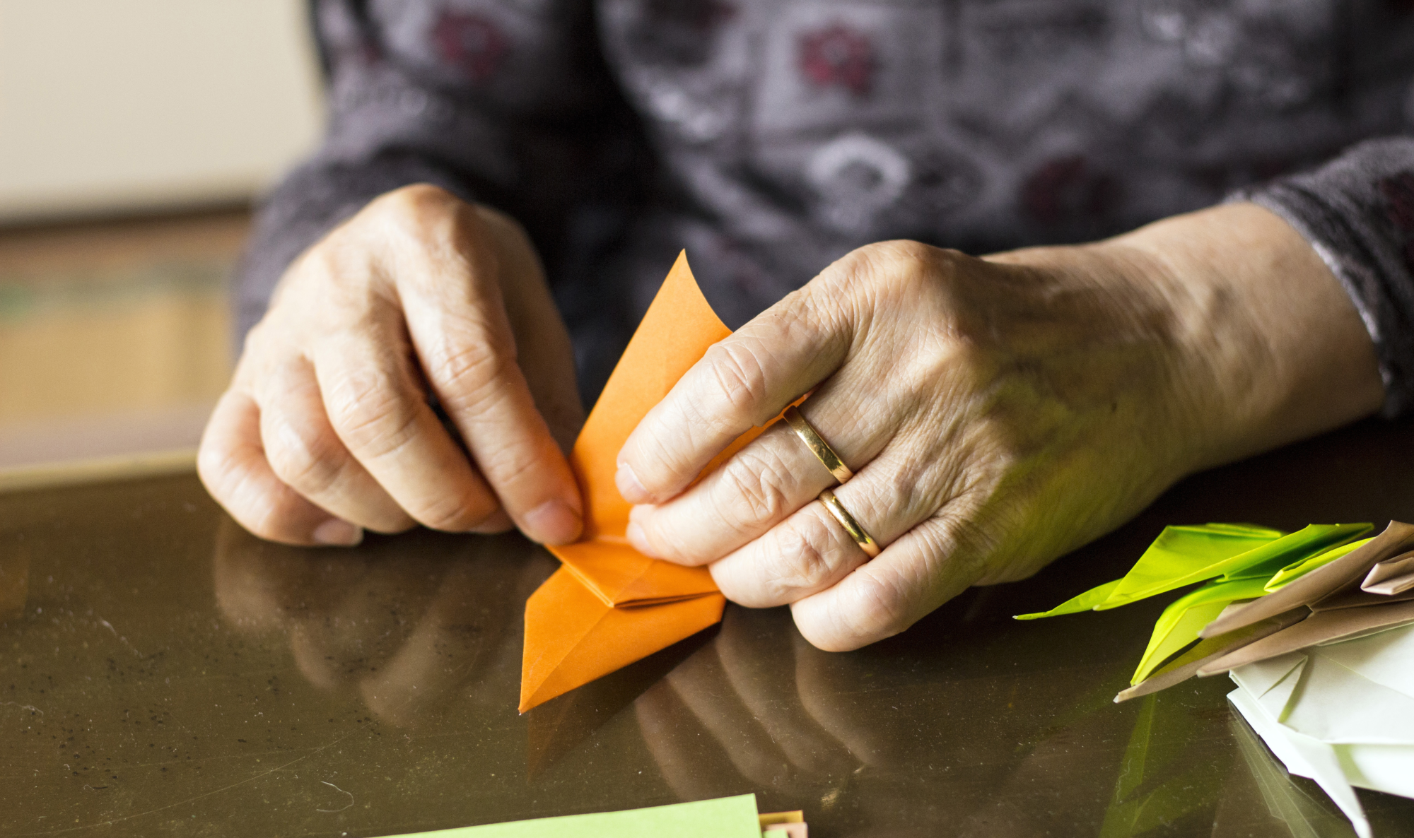 origami art senior