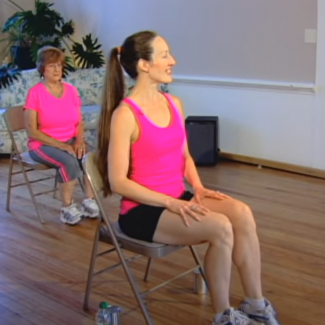 Exercises on chair