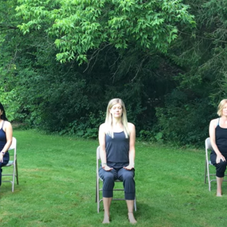 30-minute gentle Chair Yoga