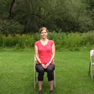 10-minute gentle Chair Yoga
