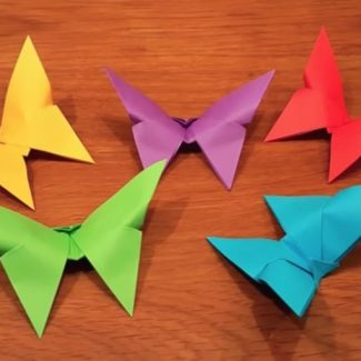 three-minute-butterfly-origami